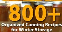 Preserving, Canning, Drying & more ... / It's all about food storage!