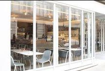 Project: Umami Matcha Café Paris / The very first Matcha café in Paris, featuring De Vorm's LJ series