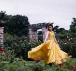 My Beauty and the Beast Remake - Belle's Yellow Ballgown / Photo collection of my remake of Belle's Yellow Ballgown from the live-action, 2017, Beauty and the Beast (starring Emma Watson and Dan Stevens)!  Photography Credit: SmileforSophie.com