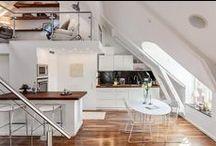 MONOLOCALI - Tiny Houses - Loft / In questa bacheca troverete le soluzioni progettuali ed architettoniche più interessanti per i monolocali. Seguiteci su: www.eudomia.com   Il primo portale che vuole accrescere e diffondere consapevolezza su come una buona ristrutturazione possa migliorare la qualità della vita.  #comfortabitativo #qualità #materiali #casa #abitare
