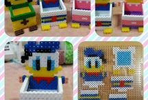 Fuse Bead Projects / Pearler bead projects. Some can be used as minecraft pixel art