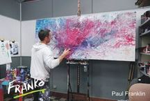 Abstracts   PINK   PURPLE   / Here you will find a stack of crazy, colourful, heavily textured and fluid Abstract pieces that have passed thru my studio to clients homes all over the world. Ill also put in some newbies along the way. If you like what I do, please feel free to visit my website and see what is currently available and to say hi on facebook if that is your thang. Thanks for visiting! Happy Trails! Franko