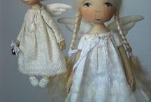 Кукла и игрушки / Кукла текстильная