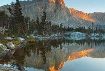 Sequoia National Park / Cet immense parc national est très renommé grâce à ses séquoias géants dont certains dépassent parfois les 80 mètres de hauteur !