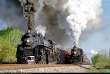 Railroads Old & New / by Ron Fews