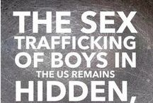 Males are trafficked too / Our heart is to shed light on male trafficking. Restore One is opening the first home for trafficked males in the nation.