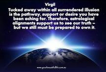 Channelling with Virgil / links to exciting and inspirational spiritual growth