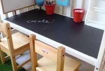 Organized Kids Room / Storage, organizing, and inspiration for the perfect playroom.