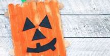 Halloween / Fun food, decorations, crafts, & activities to celebrate Halloween with your family!