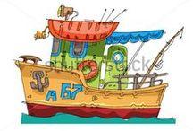 Piráti, námořníci, vodní svět