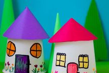 Crafts & Art Projects for Kids / Crafts & art projects for kids and parents. Process art ideas, crafts for preschoolers, and art projects for kids of all ages.