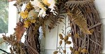 Fall Decor / Inspiration & ideas to decorate your home for fall.