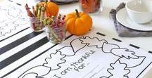 Thanksgiving / Thanksgiving tips, tricks, planning Thanksgiving dinner, Thanksgiving recipes, and Thanksgiving activities for kids.