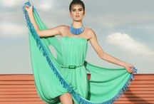 "NATI100%PUREIDEA ""Summersnacks 2014 S/S"" / Easy fresh summer/beach dresses for this season"