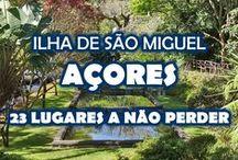 Açores - inspiração para viajar / Inspiração para preparar a sua visita à ilha de São Miguel nos Açores