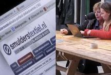 SmulMedia / Regelmatig is Smulderstextiel.nl te zien op tv en andere media. Uiteraard spelen de producten uit ons assortiment daar een grote rol in. Heeft u een dekbedovertrek, sierkussen of plaid gezien op tv, dan vindt u datzelfde product hoogstwaarschijnlijk hier terug.