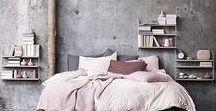 Industriële Slaapkamer / In een Industriële Slaapkamer vindt u industriële woonaccessoires, vintage meubels en mooie tinten als zwart, grijs en legergroen. Ook natuurlijke materialen als hout, leer, maar ook beton vindt u veel terug in deze woonstijl. Voor een extra wauw-effect voegt u felgekleurde accenten toe.