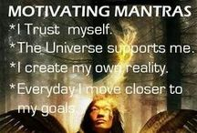 Everyday Mantras / Positive Thoughts, Habits, Patterns and Affirmations to practise daily. Re-enforcing Mental Strength and Discipline