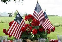 Fourth of July Party / A little bit of #inspiration for your next Fourth of July BBQ.