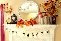 Thanksgiving Home Decor Galore / Show everyone what your #thankful for with our Thanksgiving decor ideas.