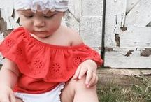 Baby & Kids' Fashion / Baby clothes, baby style, baby fashion, kids clothes, kids fashion, kids clothes, preschool fashion, preschool style, preschool clothes