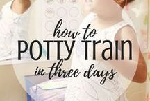 Potty Training / Potty Training tips, potty training ideas, how to potty train, potty training, potty training girls, potty training boys, how to potty train, how to potty train girls, how to potty train boys, potty training readiness, potty training stories, how to potty train in three days