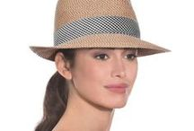 Eric Javitz sunhats at TitFerTat Richmond / Foldable, lightweight sunhats offering excellent sun protection, style and practicality.  By notable New York designer.