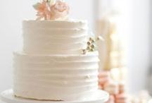 Party cake #white