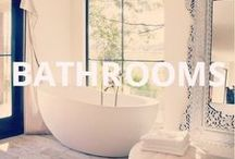 Spaces (Bathrooms) / Relax. Refresh.  Rejuvenate.  Here are our picks for bathrooms.