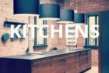 """Spaces (Kitchens) / """"One cannot think well, love well or sleep well if one has not dined well.""""   - Virginia Woolf Here are our picks for kitchens."""