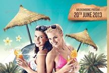 Summer Flyer Posters Designs