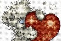Cross stitch / borduren / by Natasja Den Blaauwen