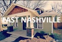Homes (East Nashville) / Do you want to live in a quaint neighborhood, but live near Downtown Nashville, too?  East Nashville is the neighborhood for you!   The area is located near Interstate 65 and the Cumberland River to the east and west and Briley Parkway and Downtown Nashville to the north and south.  Being a mix of historic and the modern, East Nashville offers residents a variety of homes, including: Victorian, Bungalow, Tudor and Modern homes.