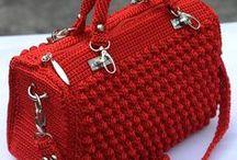 Crochet bags / gehaakte tassen / by Natasja Den Blaauwen
