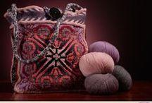 Knitting bags / tassen breien / by Natasja Den Blaauwen