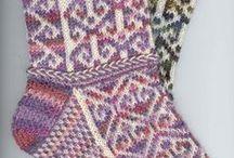 Knitting socks / gebreide sokken / by Natasja Den Blaauwen