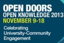 Open Doors 2013 / Strengthening communities is a priority for Canada's universities and we're proud to celebrate the important partnerships that benefit us all. From November 9 to 18, universities across Canada will open their doors to the community as part of a national university open house. We're better together!