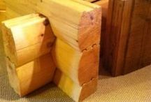 Wood Products / Various wood product offerings from Log Homes of America