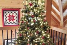 Holiday Ideas / So many great decorations in log homes this time of year!