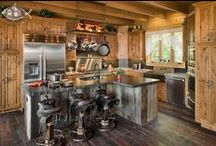 Kitchens / Kitchens in today's log homes have all the amenities and appeal of traditional homes.  The open floorplan common with so many log homes allows for the perfect place to cook and entertain.