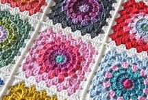 Crochet (colchas, moda, cojines, alfombras, cortinas...) / crochet / by concepcion henriquez perez