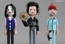 Movie and TV Figures