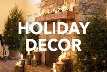 Holiday Decor / We love all seasonal holidays and the decorations that come with them!  Check out our favorite festive decorations!