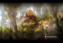 Final Fantasy XIV - A Realm Reborn backgrounds / Backgrounds