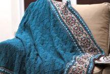 Knitting blankets / dekens breien / by Natasja Den Blaauwen