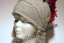 manda ovillos - gorros de lana / divertidos gorros de lana hecho a mano