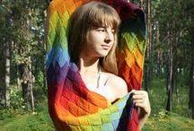 Entrelac knitting / entrelac breien / Techniek en patronen met entrelac breien / by Natasja Den Blaauwen