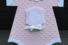 Stampin Up Baby Cards / Nothing is more exciting than welcoming a new baby!  Mark the occasion with a beautiful, handmade baby card that both baby and parents will treasure  for years to come.I'm happy to answer any questions you may have about any of these projects. You can email me at amascio@comcast.net. Check out my blog at: www.stampwithanna.blogspot.com Shop with me at: http://www.stampinup.net/esuite/home/annamasciovecchio/