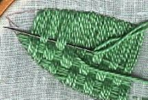 haft płaski