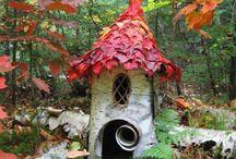 FAIRY & BIRD HOUSE